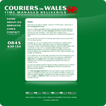 Couriers in Wales Website