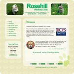 Rosehill Vets home page