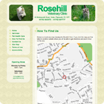 How to find Rosehill Vets